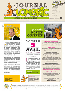 Le Journal du Lombric n°55