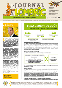 Journal du Lombric n°57