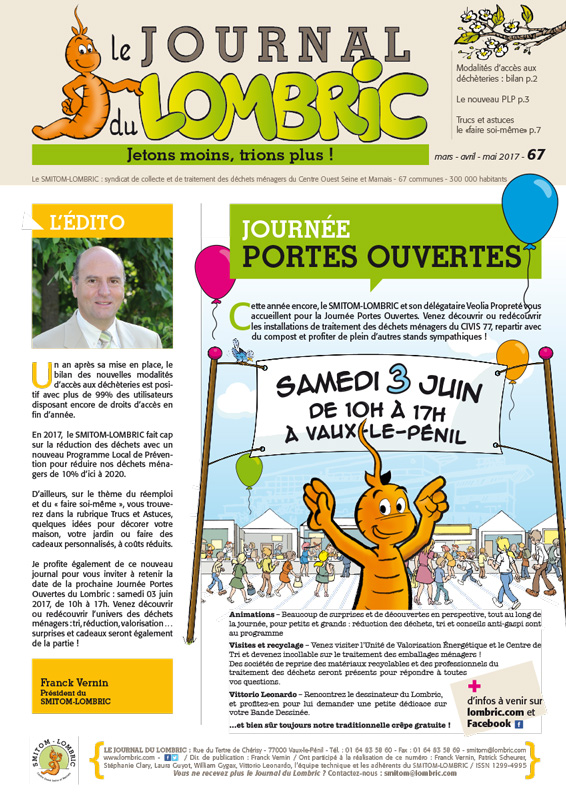 Journal du Lombric n°67