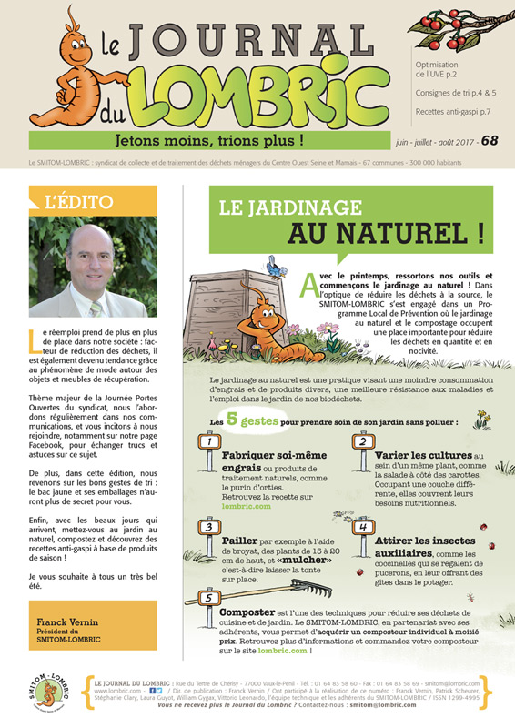Journal du Lombric n°68