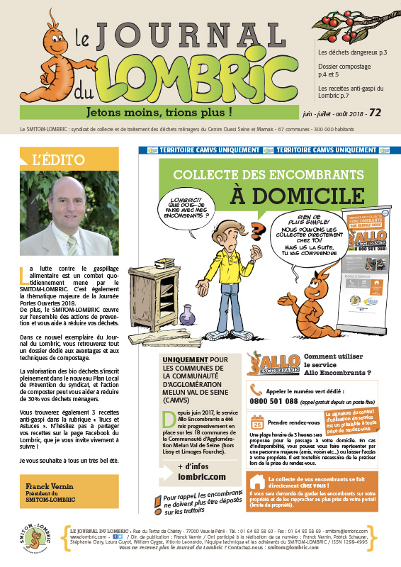 Journal du Lombric n°72