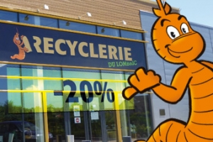 Coupon recyclerie du Lombric